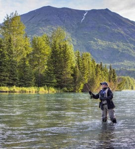 Fly Fishing on the Kenai River
