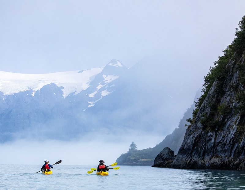 Sea Kayaking in Kenai Fjords National Park